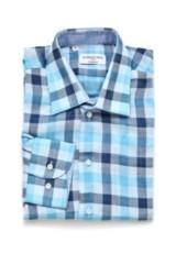 SEBASTIEN JAMES GARY Regular Fit Shirts ブルー