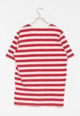 URBAN RESEARCH warehouse Vネック ポケット Tシャツ OFF/RED