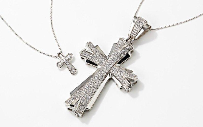 Silver Cross Jewelry