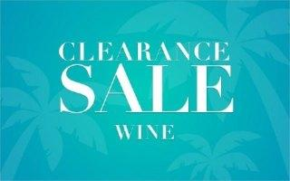 CLEARANCE WINE