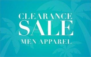 CLEARANCE MEN'S FASHION