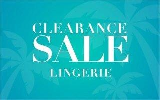 CLEARANCE:WOMEN'S LINGERIE
