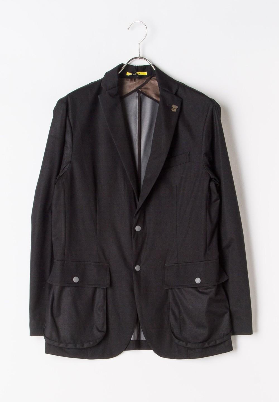 ハイゲージジャージージャケット ブラック - #1
