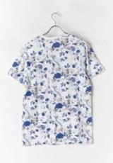 Tシャツ ブルーWH