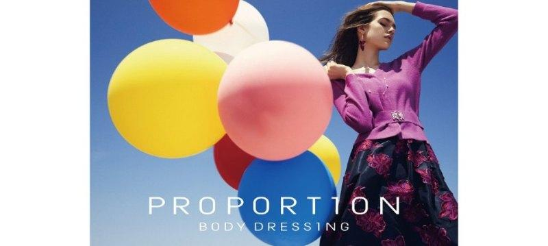 PROPORTION BODY DRESSING