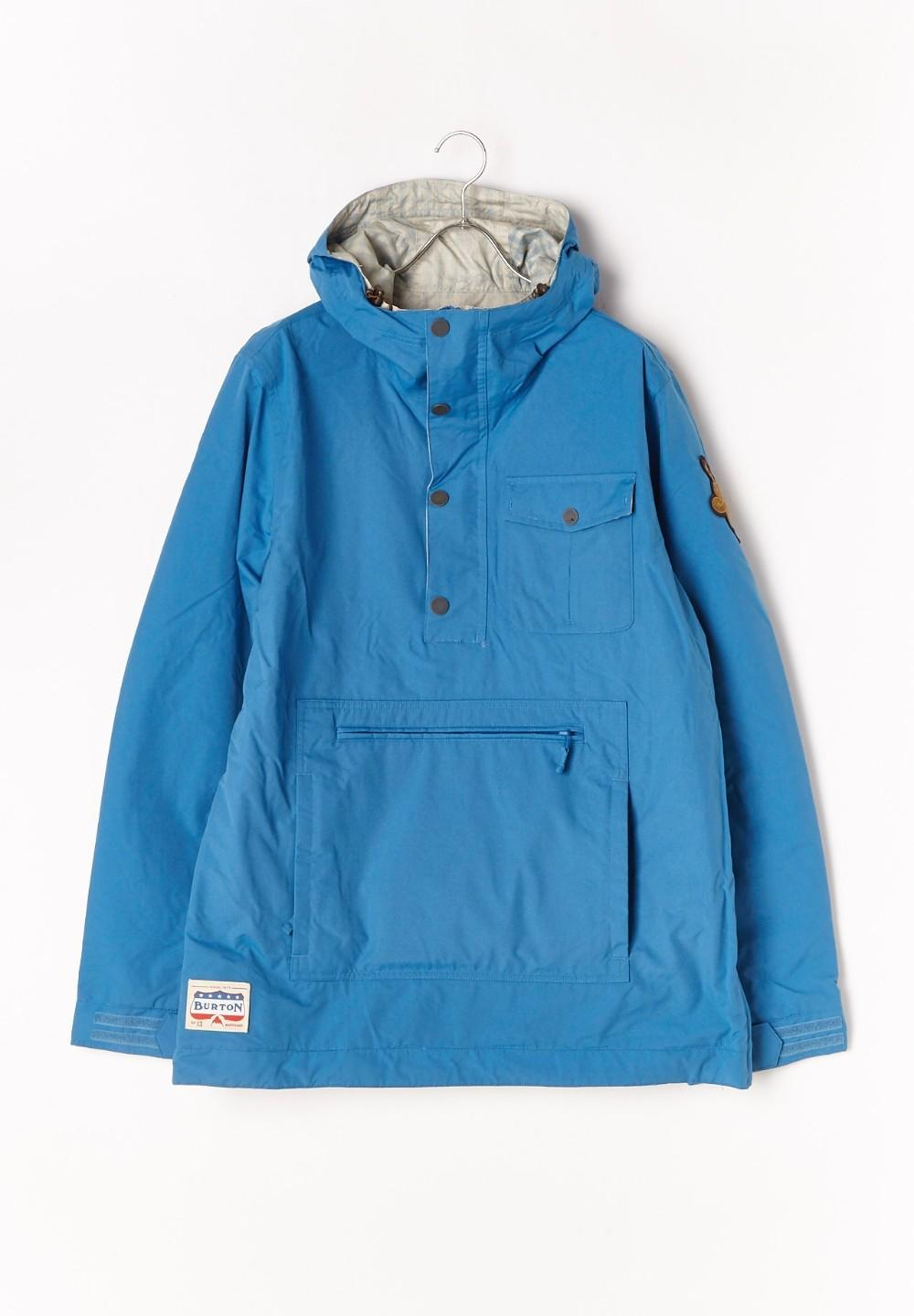 Sawyer Anorak Glacier Blue / Gingham - #1