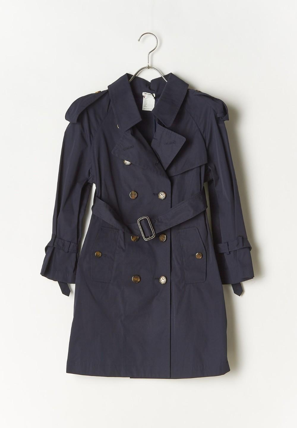 CHARLES SIGNATURE TRENCH NAVY & BLUE - #1