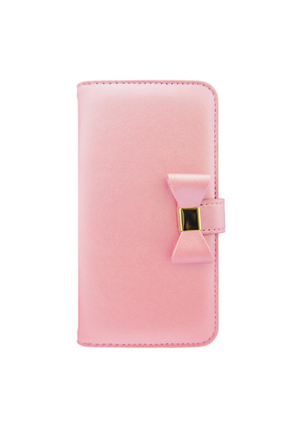 UNiCASE BLUE LABEL / Ribbon Diary Baby Pink for 5.5inch - #1