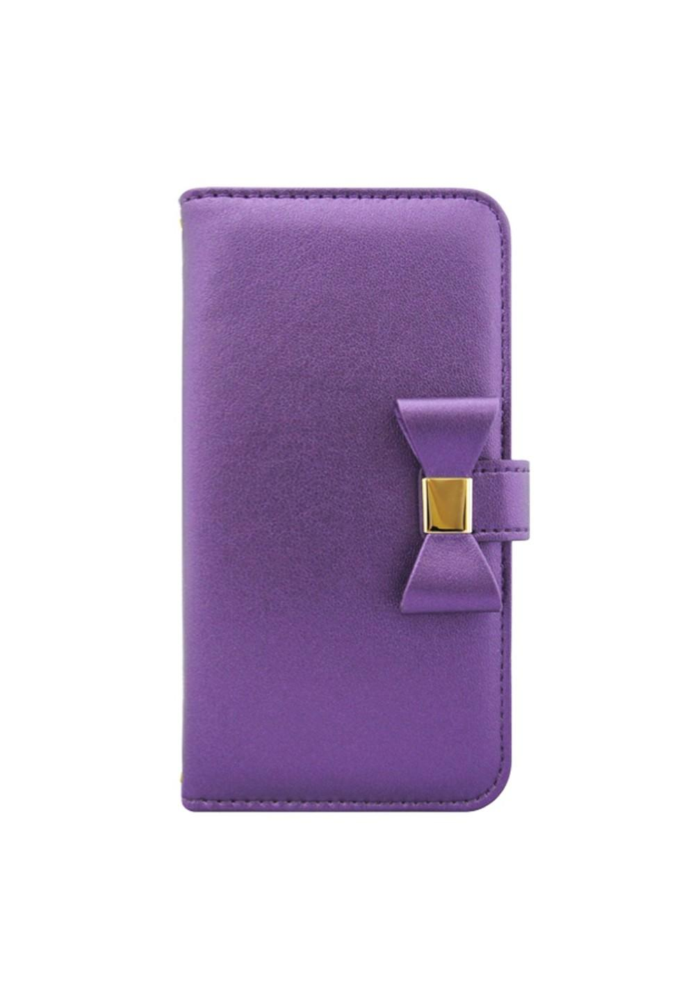 UNiCASE BLUE LABEL / Ribbon Diary Purple for 5.5inch - #1