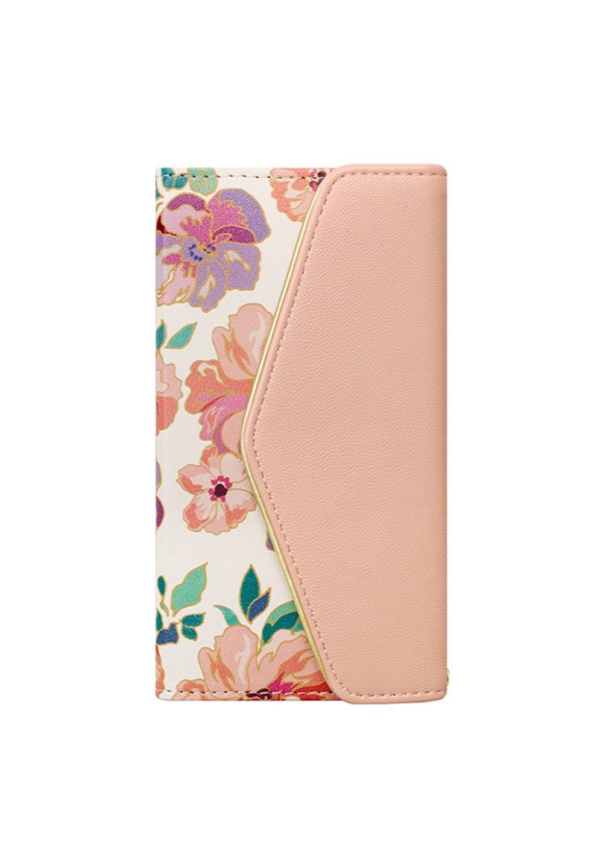UNiCASE BLUE LABEL / Flower Series mirror case for iPhoneX(Warm Pink) - #1