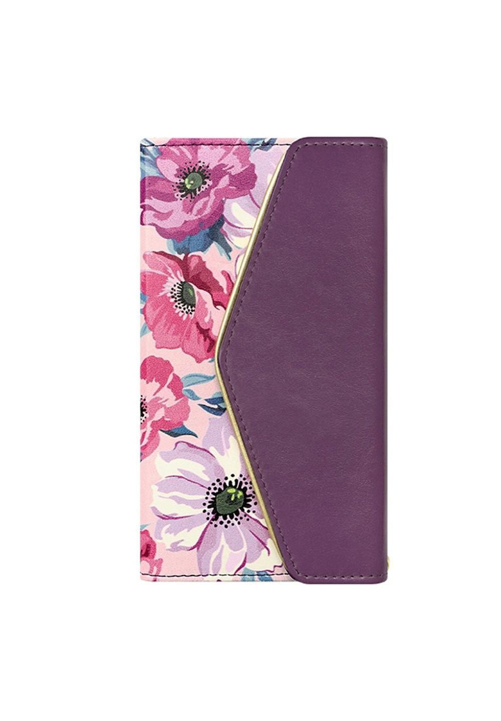 UNiCASE BLUE LABEL / Flower Series mirror case for iPhoneX(Purple Anemone) - #1