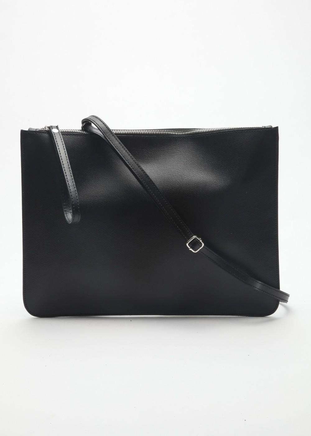 イタリアンカーフバッグ ブラック - #1
