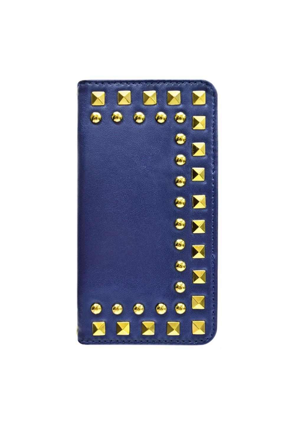 UNiCASE BLUE LABEL / Studded Diary Navy for iPhone6s/6 - #1