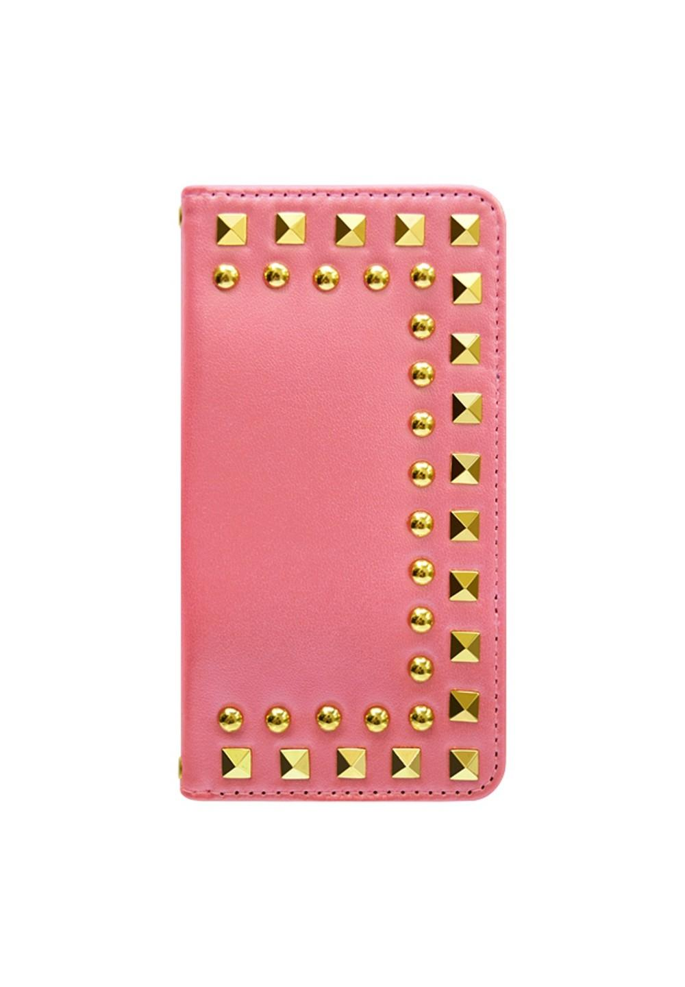 UNiCASE BLUE LABEL / Studded Diary Pink for iPhone6s/6 - #1