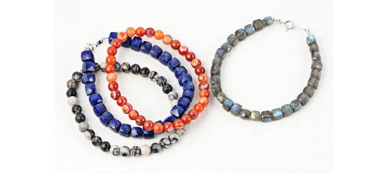 4 SEASONS JEWELRY:Color Stone Collection