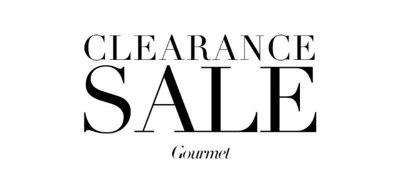 Clearance sale:Gourmet