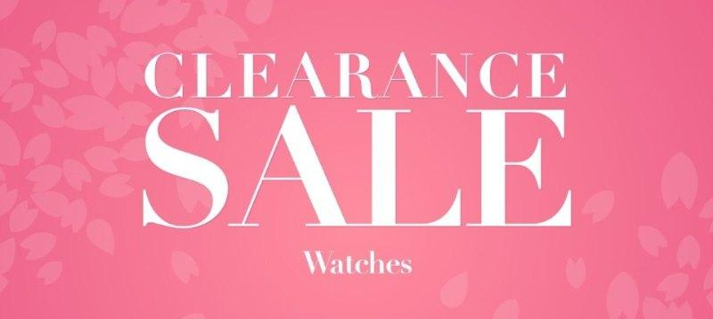 Clearance sale:Watches