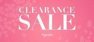 CLEARANCE:SPORTS