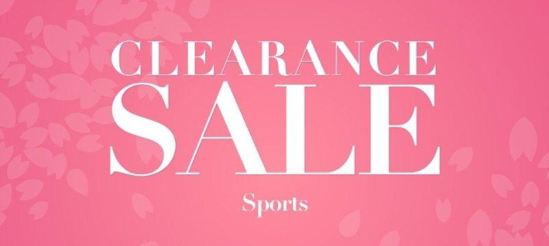 Clearance sale:Sports