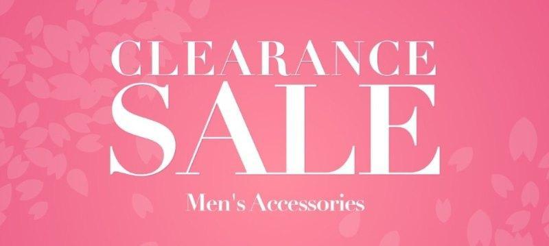 Clearance sale:Men's Accessories