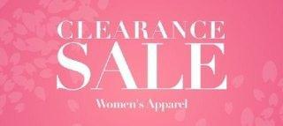 CLEARANCE:WOMEN'S APPAREL
