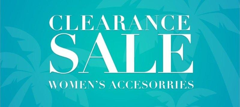 Clearance sale:Women's Accessories