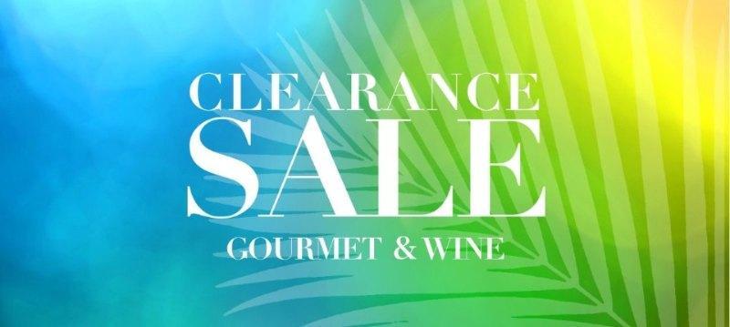 Clearance sale:Gourmet&Wine