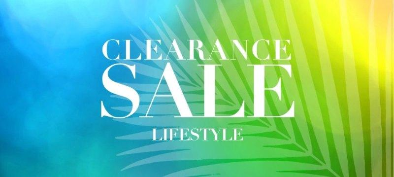 Clearance sale:Lifestyle