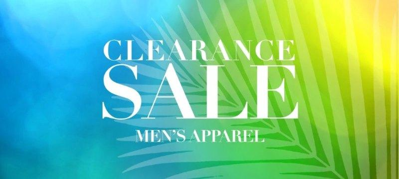Clearance sale:Men's