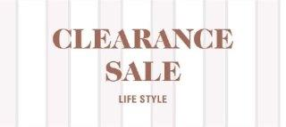 CLEARANCE:LIFESTYLE