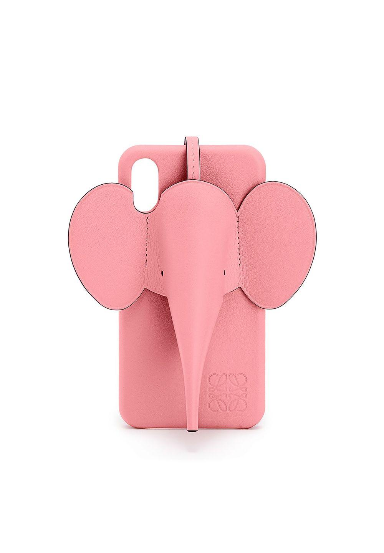 エレファント フォンカバー iPhone X/XS MAX 用 (クラシック カーフスキン)     キャンディ - #1