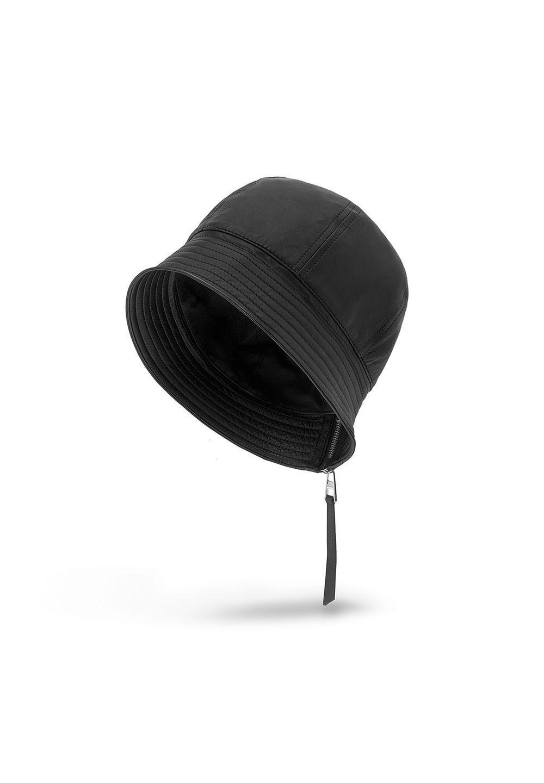 バケットハット (ナッパ カーフスキン)     ブラック - #1