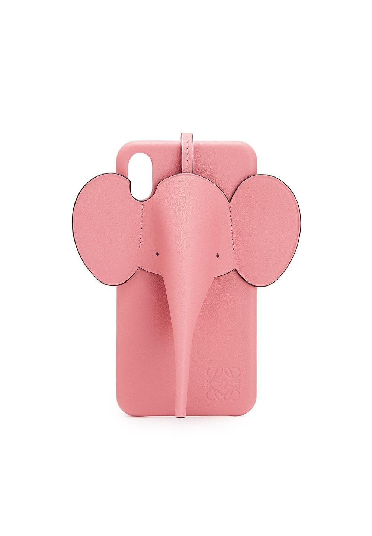 エレファント フォンカバー iPhone XS MAX 用 (クラシック カーフスキン)     キャンディ - #1