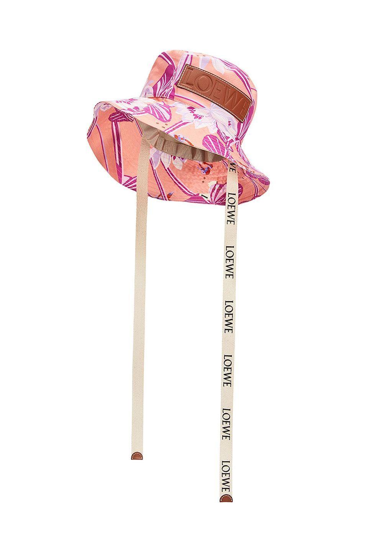 フィッシャーマンハット (ウォーターリリー キャンバス)     ピンク - #1
