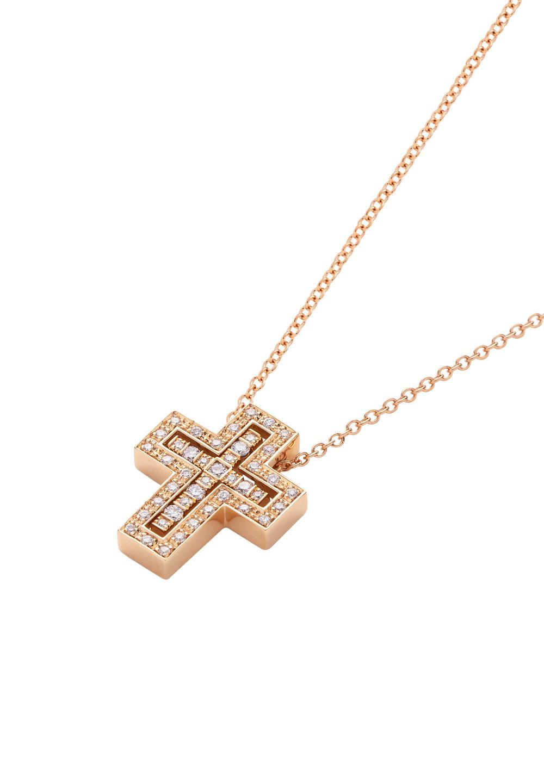 ベル エポック ピンクゴールド ダイヤモンド ネックレス XXSサイズ - #1