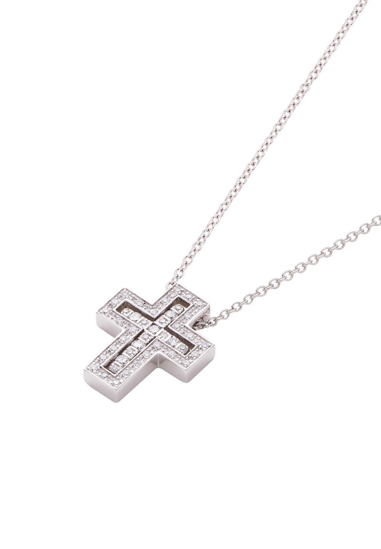ベル エポック ホワイトゴールド ダイヤモンド ネックレス XXSサイズ - #1