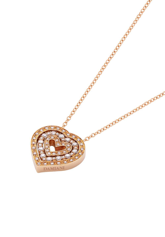 ベル エポック ピンクゴールド ダイヤモンド ネックレス - #1