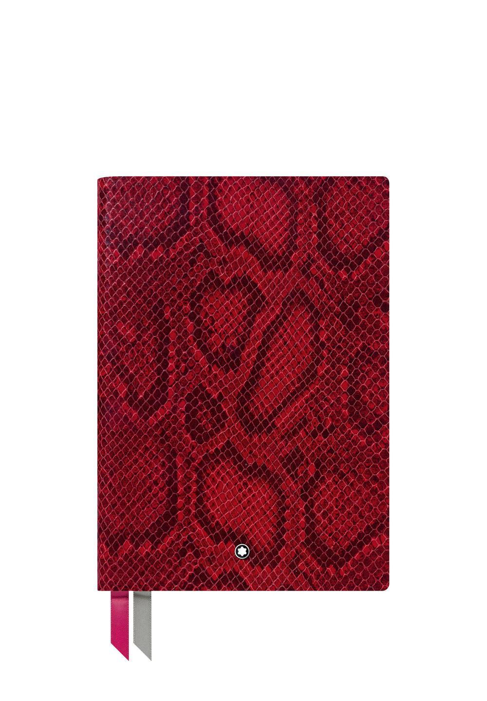 ノートブック #146 パイソンプリント  カイエンレッド - #1