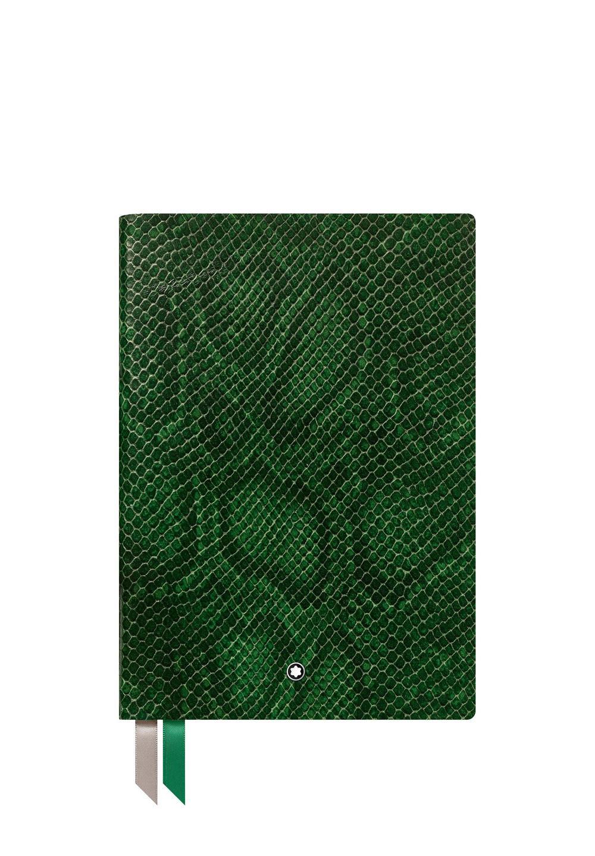 ノートブック #146 パイソンプリント ピーコックグリーン - #1
