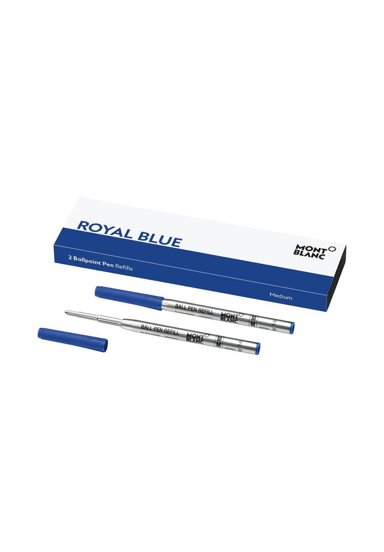 ボールペン リフィル(M)2本 ロイヤルブルー - #1