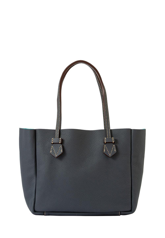 ヴァンセンヌ リバーシブルトートバッグ sizeS ブルスキン・グレー/ブルスキン・ブルー - #1