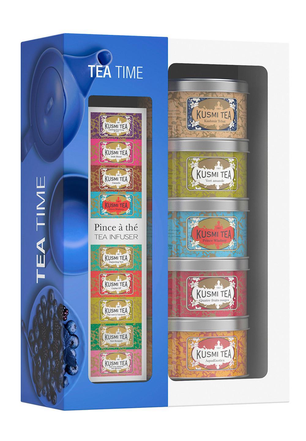 ティータイム 25g x 5缶 インフューザー付き - #1