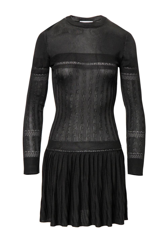 ブラック ローブ ショートドレス - #1