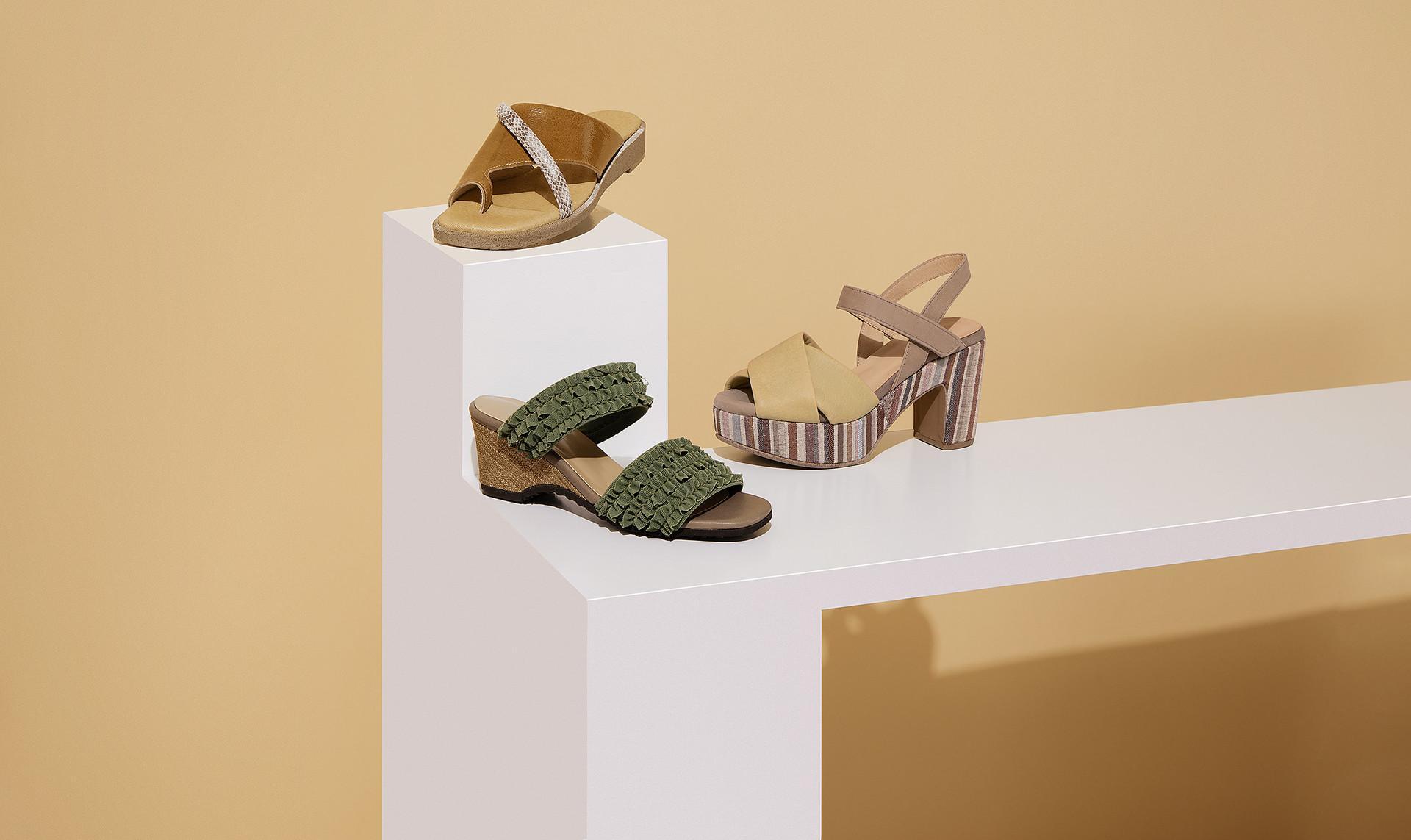 D'ICI Sandal Collection